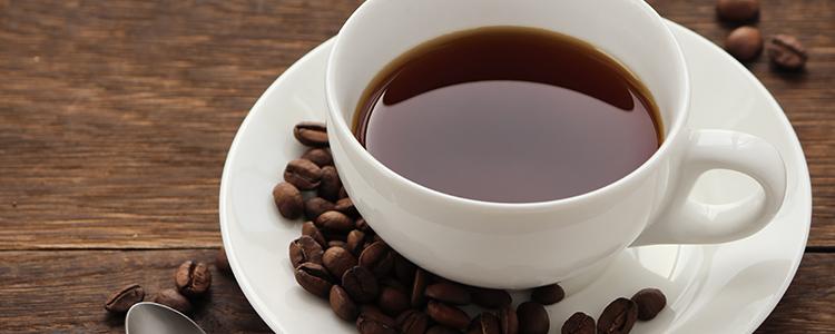 コーヒーで心を落ち着かせる